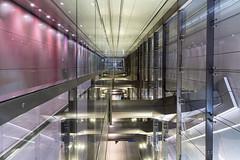 Noord-Zuid 2 (genf) Tags: metro underground amsterdam pijp perron platform walk sony a99ii reflections weerspiegelingen architectuur architecture sigma 24105