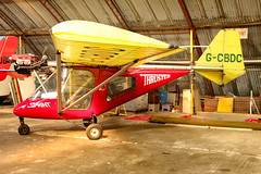 G-CBDC (GH@BHD) Tags: gcbdc thruster t600n450sprint t600n t600n450 sprint thrusterairservices ulsterflyingclub newtownardsairfield newtownards microlight aircraft aviation