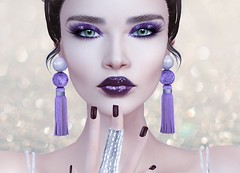 Mila Blauvelt (Mila Blauvelt) Tags: milablauvelt model avatar virtual secondlife makeup makeups appliers catwa omega tattoolayers exclusive event cosmopolitan designer poema eyeshadow lipstick lipstickappliersomega lipstickapplierscatwa