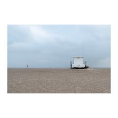 Lifeguards (John Pettigrew) Tags: lines hut d750 landscape lifeguards dull space empty mundane topographics ordianry beach imanoot banal desolate tamron johnpettigrew 2470mm deserted seascape angles nikon documenting seaside