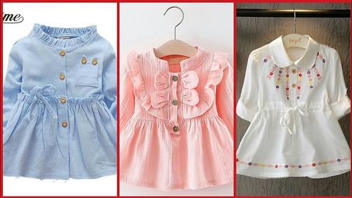 Latest Top Stylish Kids Comfortable Casual Dress Designs ...