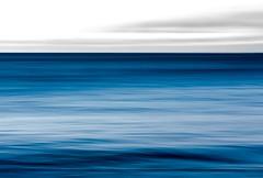 The Ocean Blue (Karen_Chappell) Tags: abstract blue white ocean sea seascape newfoundland nfld atlanticcanada atlantic avalonpeninsula middlecove middlecovebeach icm intentionalcameramovement longexposure canonef100mmf28usmmacro