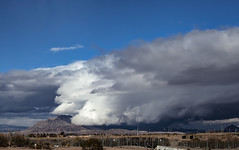 Storm Cell Over Frenchman Mtn_05 (brucekester@sbcglobal.net) Tags: frenchmanmountain hendersonnevada lasvegasnevada storm stormcell aircraft stormysky stormfront