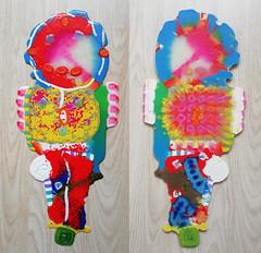 pla-creature6-kosmonaut1 (Albert_Roos) Tags: cobra colorfullsculpture creature mask face printwaist filament 3dprint 3d print waist