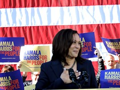 U.S. Senator Kamala Harris; Kamala Harris For the People (xaviergardens) Tags: 2020presidentialelection ussenatorkamalaharris democraticparty oakland oaklandcityhall california