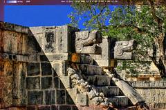 Chichén Itzá MEX - The Great Venus Platform 02 (Daniel Mennerich) Tags: chichénitzá thegreatvenusplatform maya mexico canon dslr eos hdr hdri spiegelreflexkamera slr