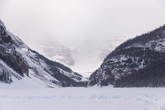 Mountains around Lake Louise (Lee Rosenbaum) Tags: banffnationalpark landscape alberta mountains glacier canada lake lakelouise snow mountain