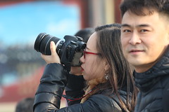 People in Beijing (Big_five) Tags: people forbidden city beijing girl couple camera taking picture