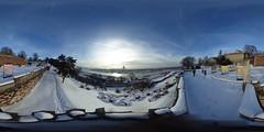 Belgrade Fortress (Genevg) Tags: belgrade serbia beograd srbija 360 vr europe sava fortress kalemegdan snow winter cold panorama immersive river sun tvrdjava