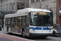 IMG_4889 (GojiMet86) Tags: mta nyc new york city bus buses 2015 xd40 7410 q32 5th avenue 42nd street