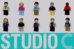 Studio C Figbarf (Ty Stephany) Tags: studioc studio matt mallory whitney adam stacey natalie james stephen jason jeremy comedy sketch youtube funny lego creation moc