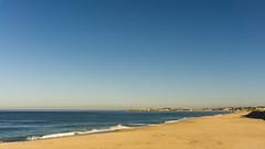 PLAYA DE MINDELO (bacasr) Tags: hicking viajando caminando water caminoportugués portugal agua travelling ocean beach océano sea coast thewayofsaintjames costa sand mar arena caminodesantiago playa azul blue