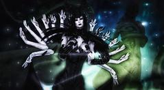 Selk'Tar'Oth (Fraz_Gloom) Tags: sl second life secondlife photography dark goddess portrait cerberusxing cx catwa aii sys zibska cureless maitreya laudanumlollipops fantasy gothic
