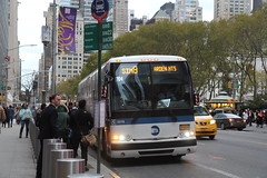 IMG_2695 (GojiMet86) Tags: mta nyc new york city bus buses 2015 x345 2578 sim8 42nd street 6th avenue