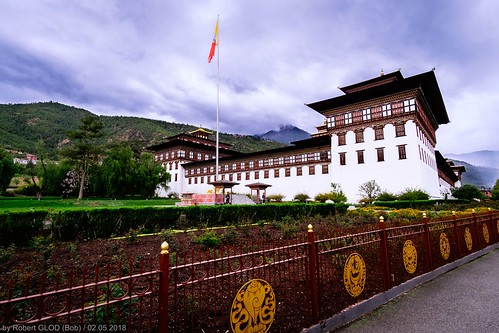 Thimphu - Tashichho Dzong