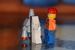 Rocket (335/365) (Tas1927) Tags: 365the2018edition 3652018 day335365 01dec18 lego minifigure minifig