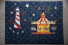 Christmas Carousel Collage Revealed (steve_whitmarsh) Tags: art craft blue orange yellow green red fayre topic