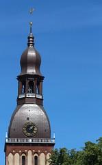 Rīgas Doms (richardr) Tags: rīgasdoms tower doms clock cathedral church northerneurope balticstates baltijasvalstis latvian latviešu latvia latvija riga nordic building architecture europe european old history heritage historic
