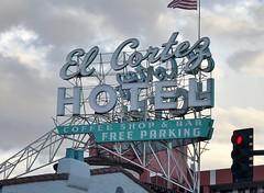 EL CORTEZ HOTEL LAS VEGAS NEVADA (2) (ussiwojima) Tags: elcortezhotel hotel casino gaming gambling lasvegas nevada neon advertising sign