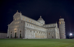 Cattedrale di Pisa (EricMakPhotography) Tags: cathedral pisa tower night building