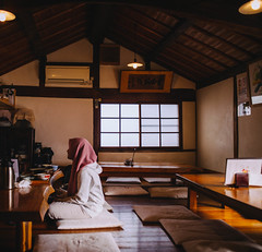 2018.11.11: yasai shokudo koyama (Nazra Z.) Tags: japanese restaurant healthy vegetarian vegan halal vegetables fish lunch autumn 2018 raw vscofilm okayama japan