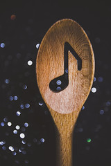 Musical Spoons (HW111) Tags: baking bokeh cooking drumstick eighthnote kitchen music musical spoon woodenspoon