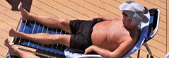 people on cruise pool deck (miosoleegrant2) Tags: ship deck cruise vacation sea pool swim bare chest barechest swimsuit swimwear sunning male men hunk muscle masculine pecs torso guy chested buzz armpits hairy nipples abs navel outdoor water swimming sport husky burly strapping brawny speedo people belly