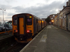 150238 Penzance (Marky7890) Tags: gwr 150238 class150 sprinter 2c48 penzance railway cornwall cornishmainline train
