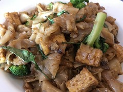 Pad kee mao with tofu at Tep Thai in Glendale (TomChatt) Tags: food thaifood parttimevegetarian