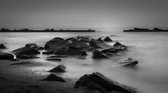 Rhapsody in F Minor (JDS Fine Art Photography) Tags: bw monochrome longexposure ndfilter inspirational ocean sea seascape beauty naturalbeauty sunset