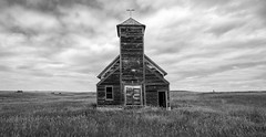 Remnant (The New No. 2) Tags: johncrouch copyright2018johncrouch johncrouchphotography 2018 roadtrip travel vacation wing northdakota unitedstates us abandoned aged america broken building built chapel christianity church cross culture damaged decay desolate dirty disrepair empty exterior faith field ghost ghosttown grassland historic landmark landscape loneliness lonely nature neglect nobody obsolete old outdoor outdoors overcast past plains prairie religion religious ruin ruins rural sky steeple structure summer temple texture tower traditional usa vintage weathered wilderness wood wooden worship longexposure
