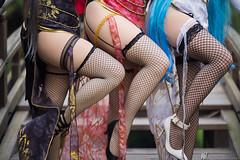 Canary Vocaloid (Kaze_Photography) Tags: canaryvocaloid vocaloid hatsunemiku megurineluka luka miku luotianyi luo ボカロイド ボカロ 初音ミク ミク 巡音ルカ ルカ 洛天依 コスプレ cosplay qipao