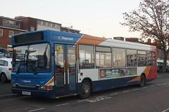 34777 - Stagecoach South West - PX55EFG (lazy south's travels) Tags: exeter devon england english britain british uk bus stagecoach dennis dart plaxton pointer slf px55efg