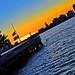 Pier 51 Hudson River Park NJ Hoboken View at Sunset Manhattan New York City NY P00037 DSC_3830