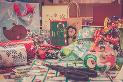 50/52 Still Life (melbaczuk) Tags: week502018 52weeksin2018 weekstartingmondaydecember102018 week50theme stillife christmaswrapping wrappingpaper ribbons christmas happyholidays canon5dmark4 canon