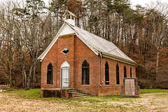 New Salem Baptist Church (Back Road Photography (Kevin W. Jerrell)) Tags: churches christianity africanamerican faith historic nikond7200 backroadphotography seviercounty sevierville tennessee oldbuildings oldchurches nationalregisterofhistoricplaces dilapidated