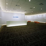 企業受付ロビー空間の写真