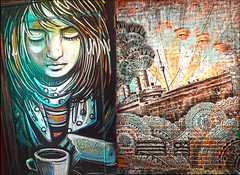 NYC Street ART (JKIESECKER) Tags: streetscenes streetart newyorkcity citylife cityscenes citystreets city graffiti art
