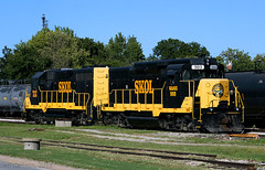 GP30/35 Slug Set (Jeff Carlson_82) Tags: slug emd gp30 gp35 coffeyville ks kansas watco wamx 503 3529 skol southkansasoklahoma train railroad railfan railway