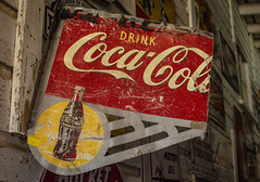 Clipped (hutchphotography2020) Tags: cocacolasign rottenwood cokebottle nikon shockofthenew