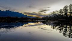 Double moon (Pierre Villanti) Tags: etang coucherdesoleil landscape paysage pond sunset canoneos5dmarkiv canon1635f4lisusm valléedelarve