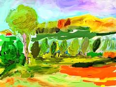 Morning (tonnovolante) Tags: paint