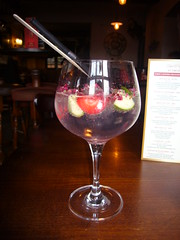Gin and tonic (rubber rat productions) Tags: glass gin tonic ginandtonic straw
