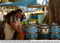 Oaxaca Market 1 (hoffman) Tags: barrel cleaning costume female food horizontal icecream lady market mexico old outdoors selling stall street trading traditional washing woman 181112patchingsetforimagerights