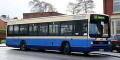 The Busman Ltd, Knutsford former Preston Bus Leyland Lynx 215  G215 KRN in Kirkham on  standby for Blackpool to Preston Rail Replacement. (Gobbiner) Tags: leylandlynx 215 thebusmanltd prestonboroughtransport g215krn kirkham railreplacement rotalaprestonbus mortonsoftadley