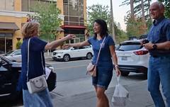 DSC05189 (housewrightd) Tags: women man walk street embrace candid unposed