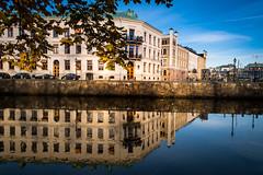 Reflection (Maria Eklind) Tags: garden autumn gothenburg göteborg trädgårdsföreningen spegling sweden reflection flower höst city västragötalandslän sverige se