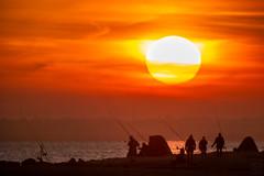 Pelzerhaken Sunset (LB_Sonne) Tags: sun sonne ostsee wasser water ocean meer sunset sonnenuntergang coast maritime beach küste balticsea tele 500mm