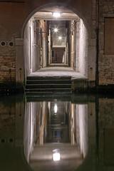 (ilConte) Tags: venice venezia notte night nacht reflection italy italia