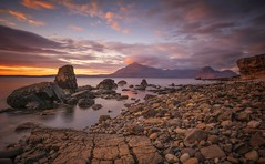 A Perfect Setting (Captain Nikon) Tags: elgol skye isleofskye scottishhighlands scotland britishisles uk greatbritain moody sunset longexposure thecullins roadtrip